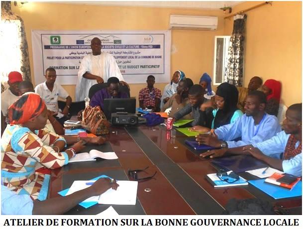 Photos: Participation citoyenne des jeunes dans le développement local de la Commune de Boghe