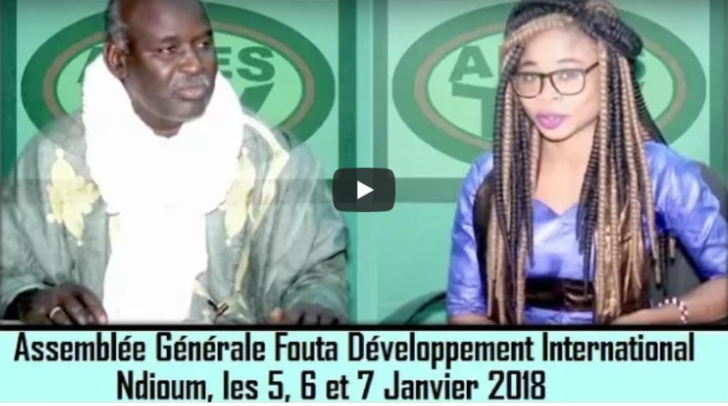 Spéciale Assemblée Générale Fouta Développement : AIDES TV reçoit Dia Moctar (Invité)