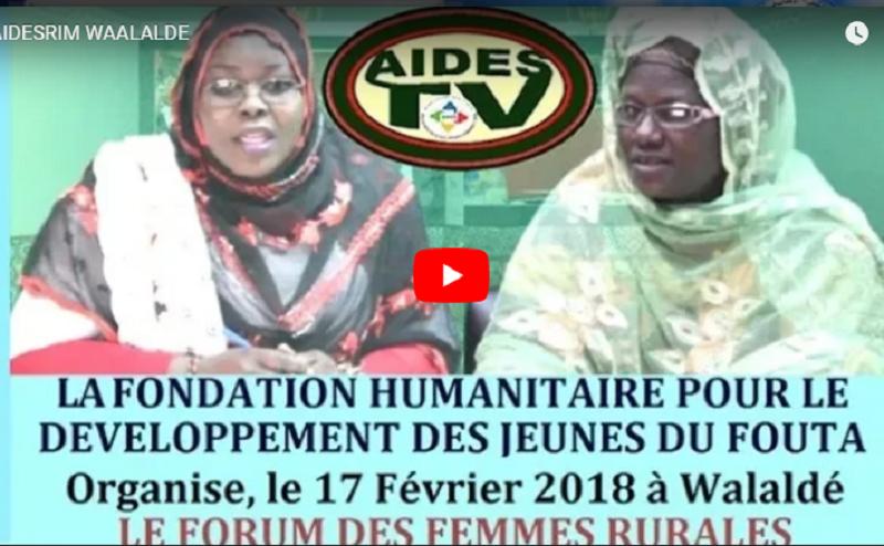 Vidéo : Premier forum des femmes rurales