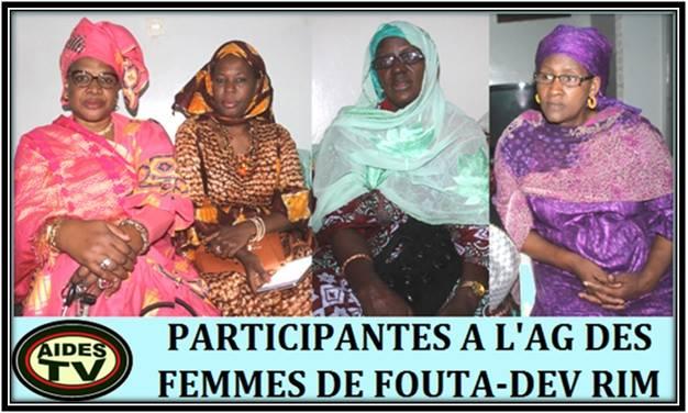 L'Assemblée Générale des femmes de Fouta Développement