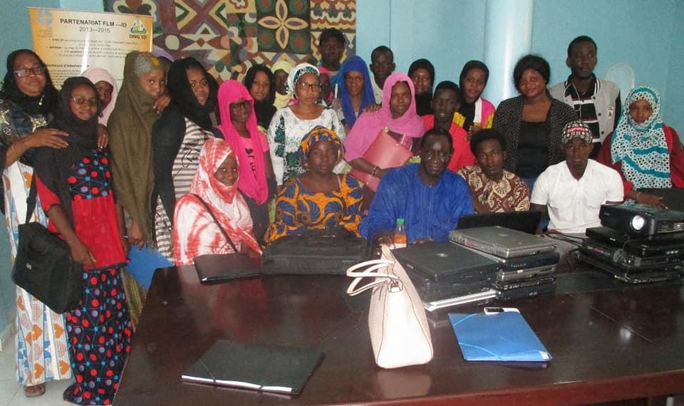 Photos : Atelier de formation des jeunes sur le développement personnel
