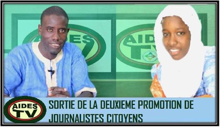 Formation de jeunes journalistes Citoyens (Promotion Feu Mamadou Demba SY)