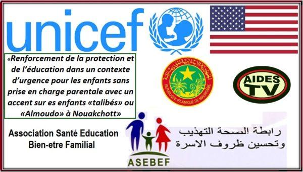 Education – l'ONG ASEBEF en faveur de la protection des enfants «talibés»
